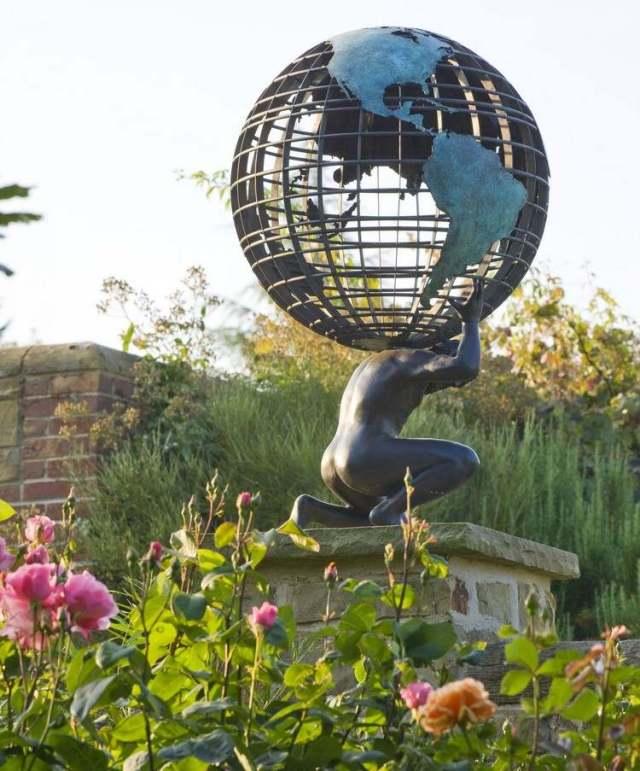 Μοντέρνα γλυπτική κήπου7