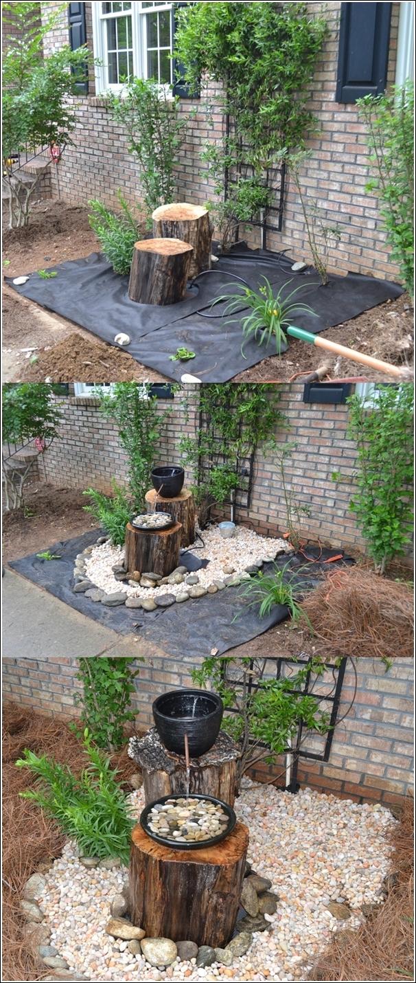 ξύλινα σιντριβάνια κήπου16