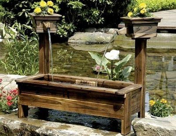 ξύλινα σιντριβάνια κήπου8