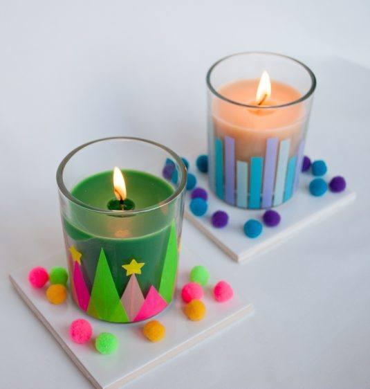 Ανοιξιάτικες διακοσμήσεις με κεριά2