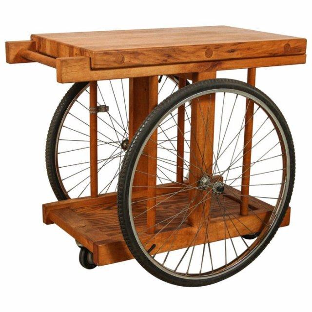 διάκοαμηση κήπου με ποδήλατα2