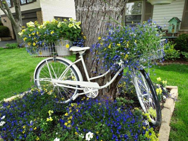 διάκοαμηση κήπου με ποδήλατα6