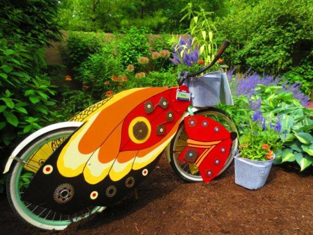 διάκοαμηση κήπου με ποδήλατα7