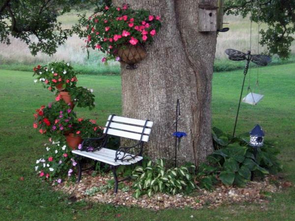 ιδέες χωριάτικης διακόσμησης κήπου10
