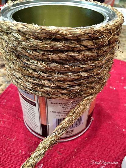 DIY γλάστρες από σχοινί11