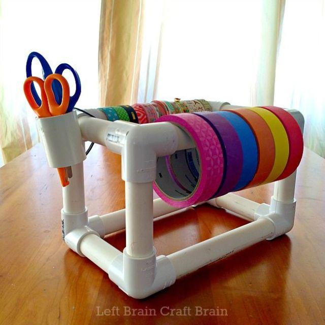 DIY ιδέες από PVC σωλήνες5