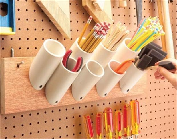 DIY ιδέες από PVC σωλήνες6