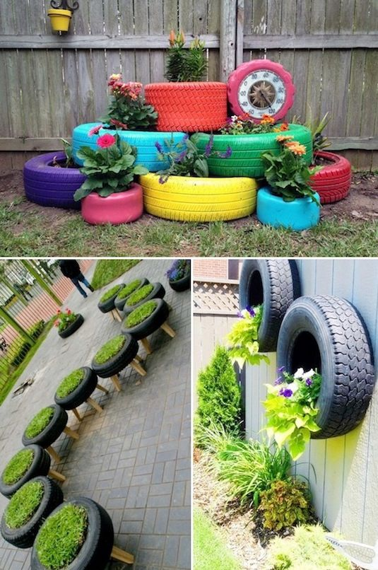 diy ιδέες για γλάστρες κήπου9