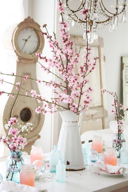 διακόσμηση με ανθισμένες κερασιές4