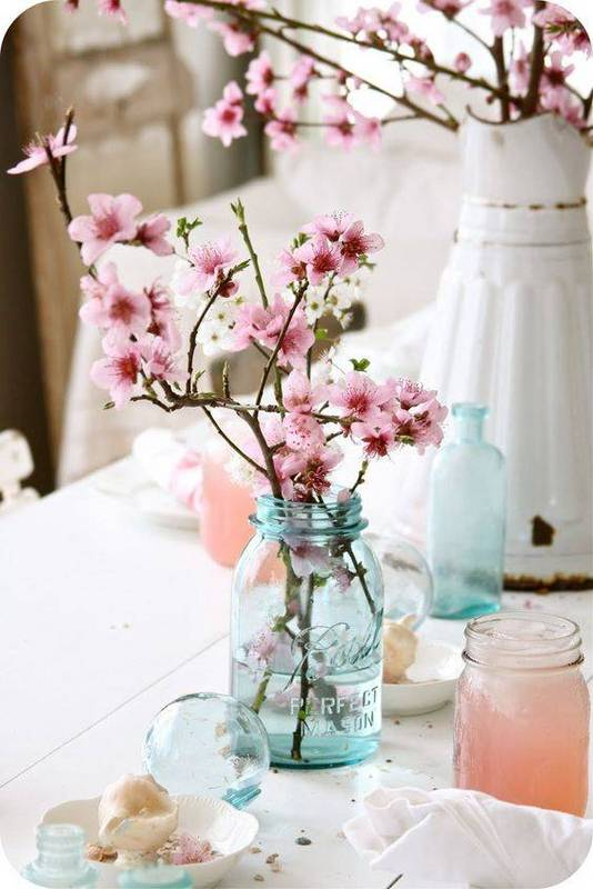 διακόσμηση με ανθισμένες κερασιές5