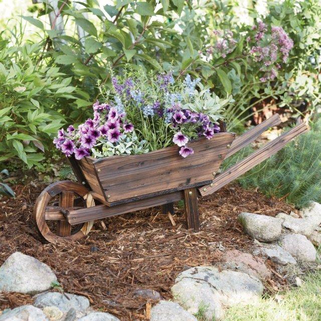 ξύλινα καρότσια κήπου3