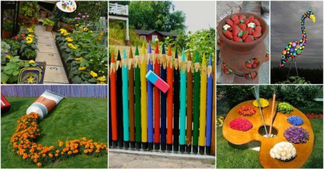 Καλιτεχνικές ιδέες διακόσμησης κήπου