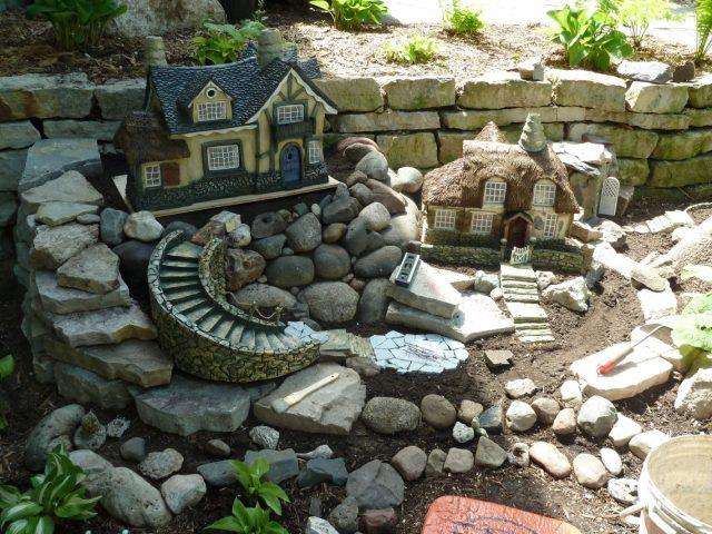 Καλιτεχνικές ιδέες διακόσμησης κήπου6