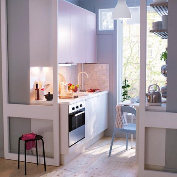 ιδέες για μικρές κουζίνες34