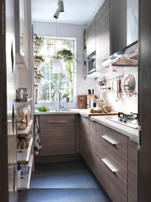 ιδέες για μικρές κουζίνες35