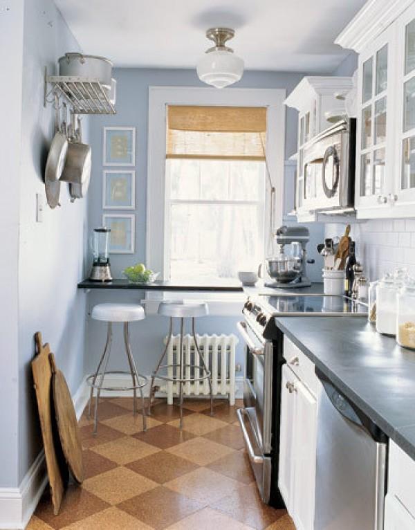 ιδέες για μικρές κουζίνες37