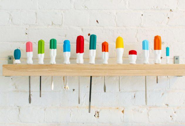DIY ιδέες αποθήκευσης και οργάνωσης των εργαλείων4