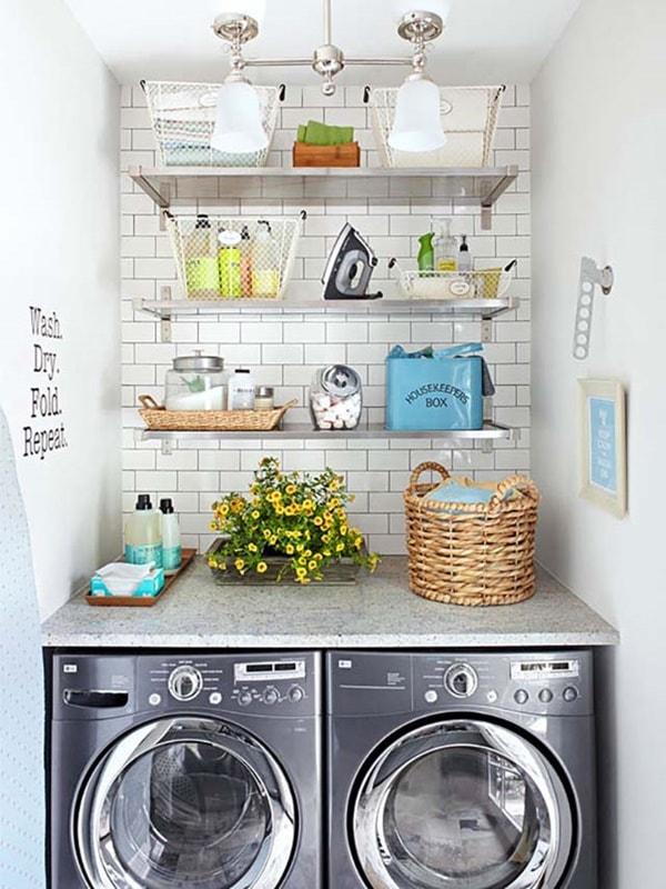Δωμάτιο πλυντηρίου λειτουργικές ιδέες5