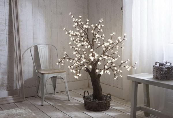 Χριστουγεννιάτικη διακόσμηση με φωτάκια LED11