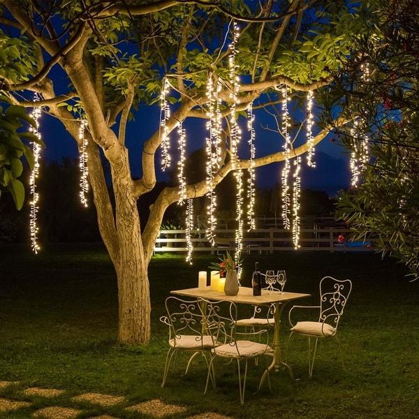 Χριστουγεννιάτικη διακόσμηση με φωτάκια LED7