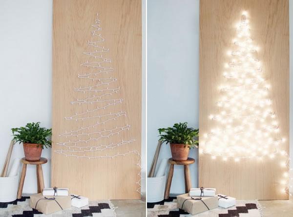 Χριστουγεννιάτικη διακόσμηση με φωτάκια LED9