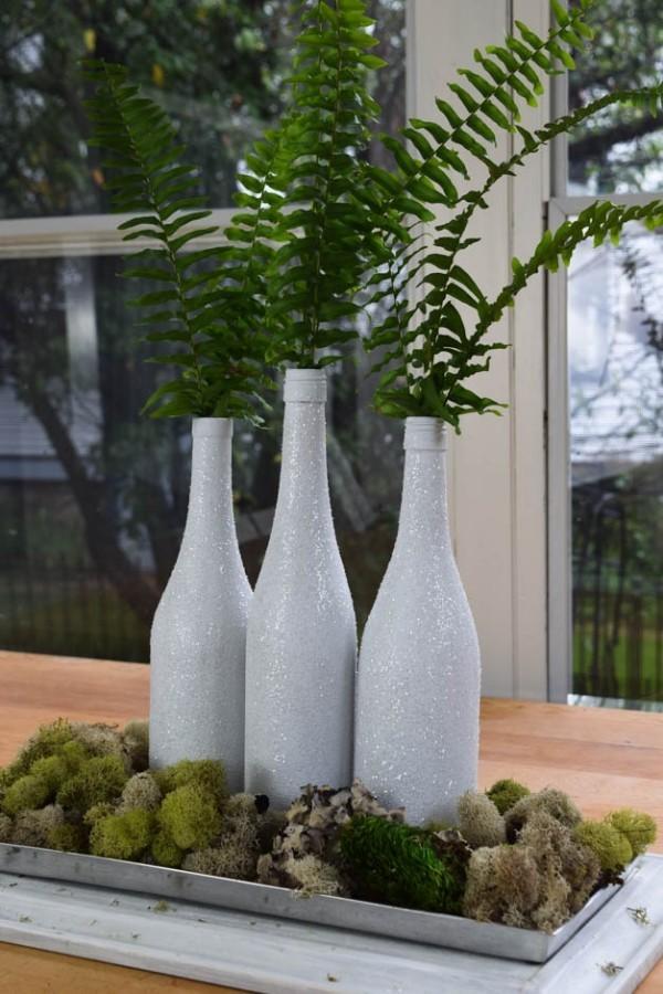 DIY Χριστουγεννιάτικη διακόσμηση από γυάλινα μπουκάλια30