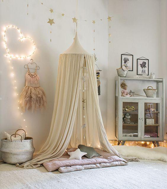 ιδέες με φωτάκια για το παιδικό δωμάτιο18