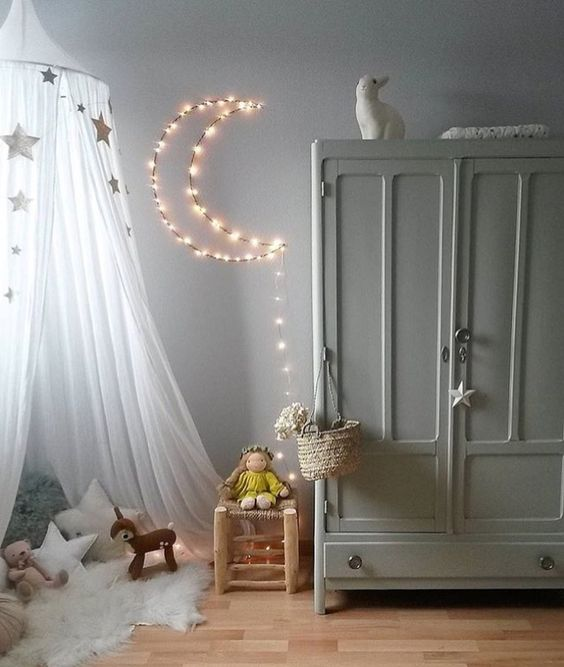 ιδέες με φωτάκια για το παιδικό δωμάτιο21