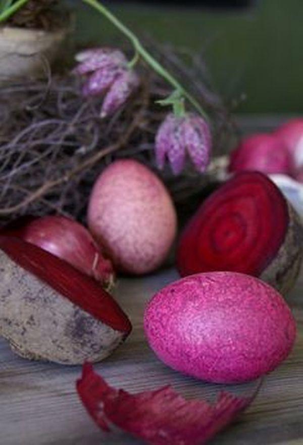 Φυσικοί τρόποι βαφής Πασχαλινών αυγών2