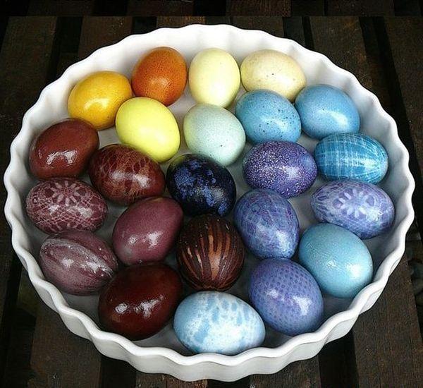 Φυσικοί τρόποι βαφής Πασχαλινών αυγών6