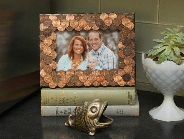 DIY έργα διακόσμησης από μικρό νομίσματα11