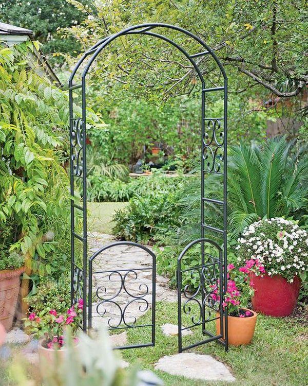 ιδέες από καμάρες κήπου3