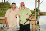 Randy White with Captain Chris
