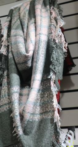 теплый платок