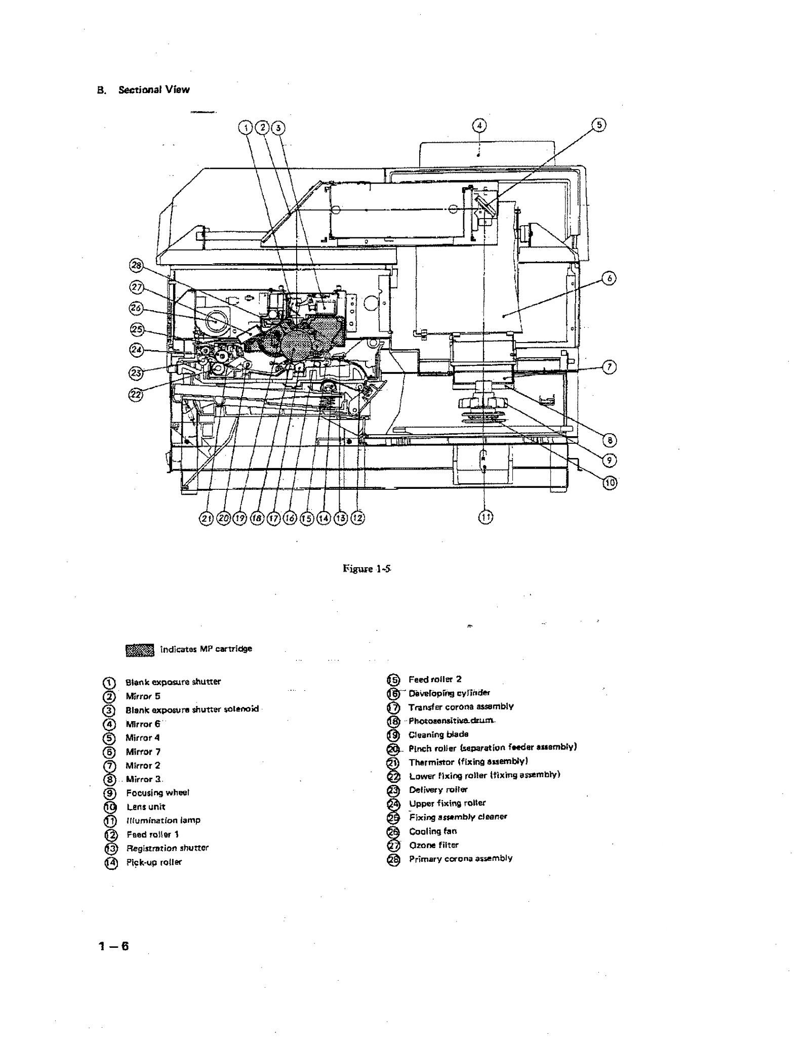 Canon PC Printer 70 Microfilm Reader / Printer Service