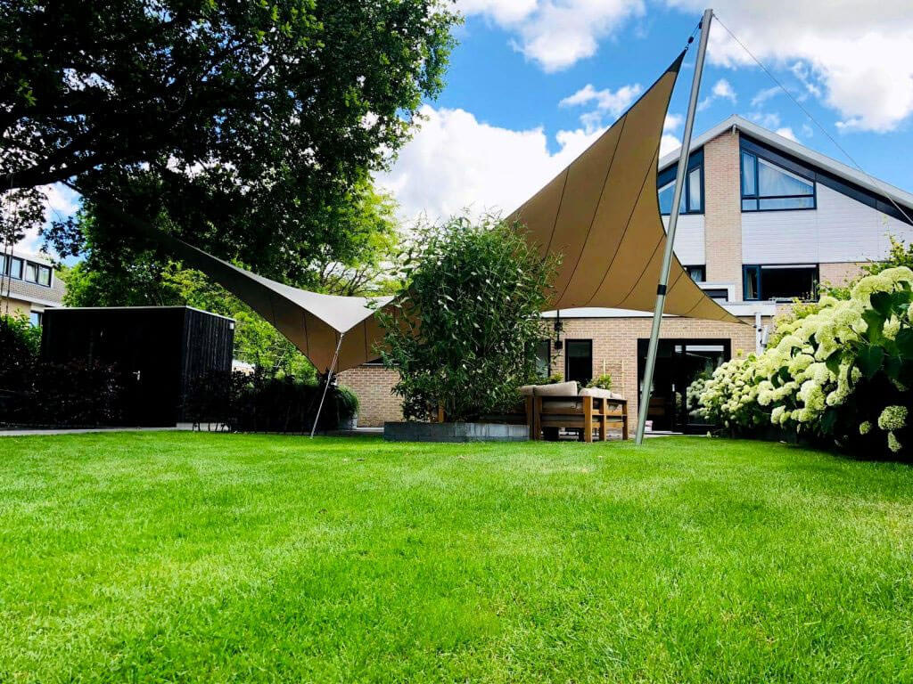 removable shade sail roof solution