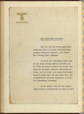 Hitler's Political Testament, p1