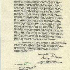 Report on the Funeral of General Patton, 12/24/1945 p3