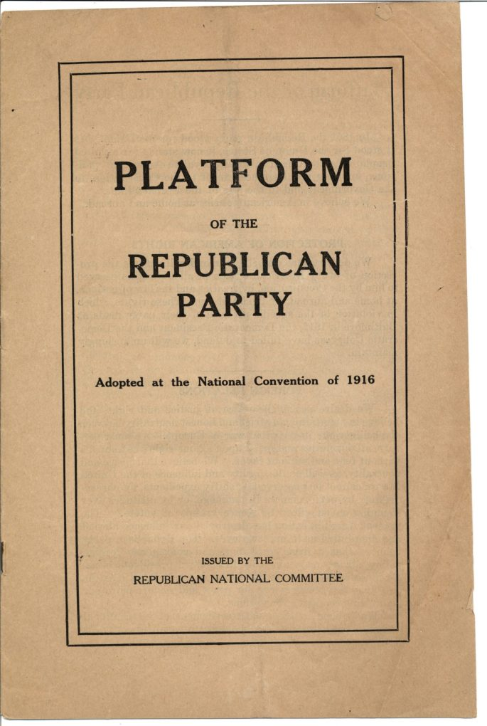 cover page of platform