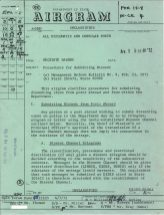 Airgram from the Secretary of State to all diplomatic and consular posts, A-3559, p. 1.