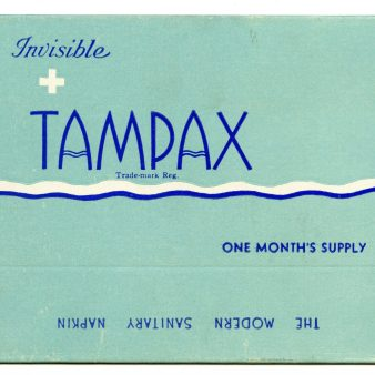 45085 - Invisible Tampax, Sanitary Napkins - Tampax Sales Corporation, 1934