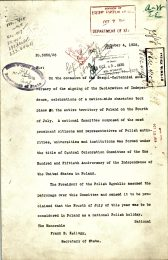 Diplomatic Note from Legation of Poland, p. 1