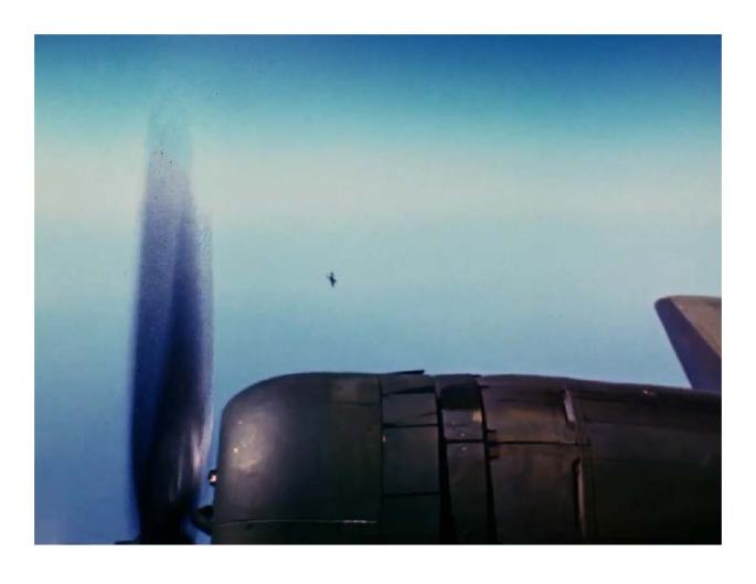Memphis Belle.attacking fighter