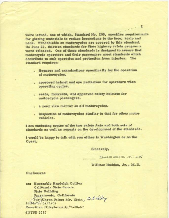 Steve McQueen Letter 5