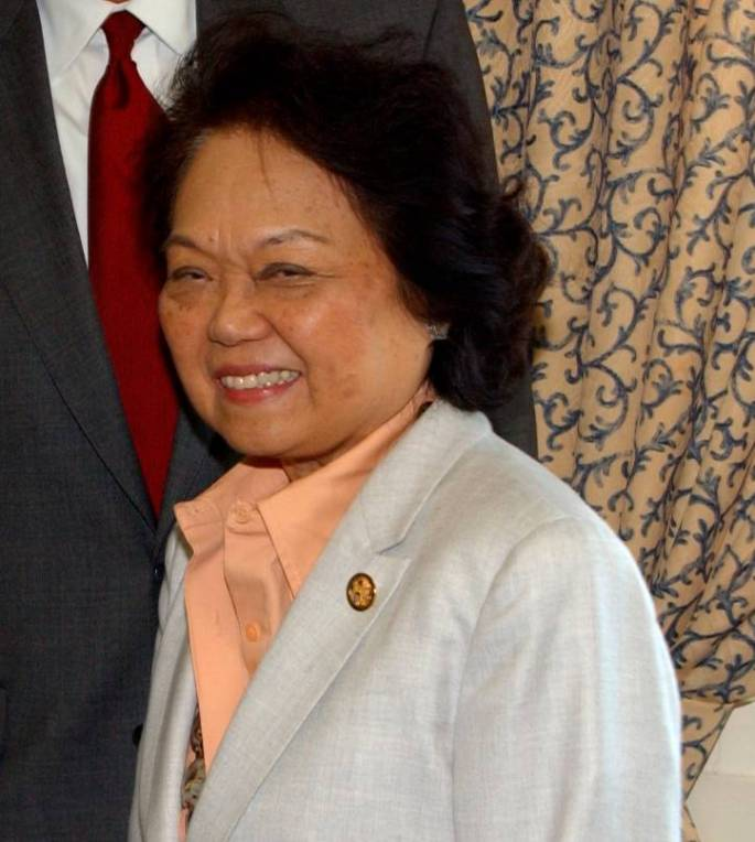 Image of Congresswoman Patsy Mink.