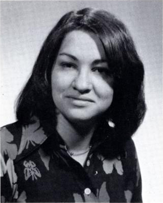 Sotomayor with long hair and collared shirt