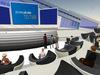 Le bureau de l'agence Text100 dans Second Life
