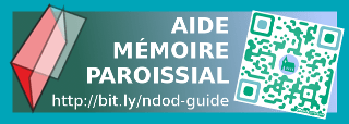 Cliquer ici pour télécharger le guide paroissial (dépliant: A4 paysage rv plié en 3 volets)