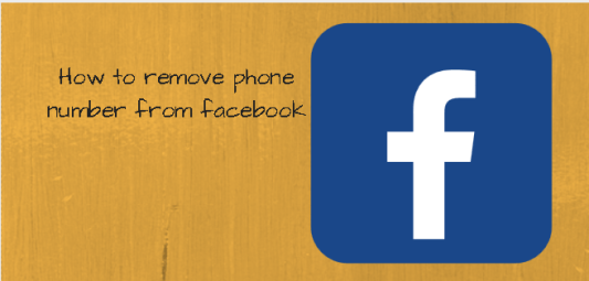 How To Remove Phone Number From Facebook Profile