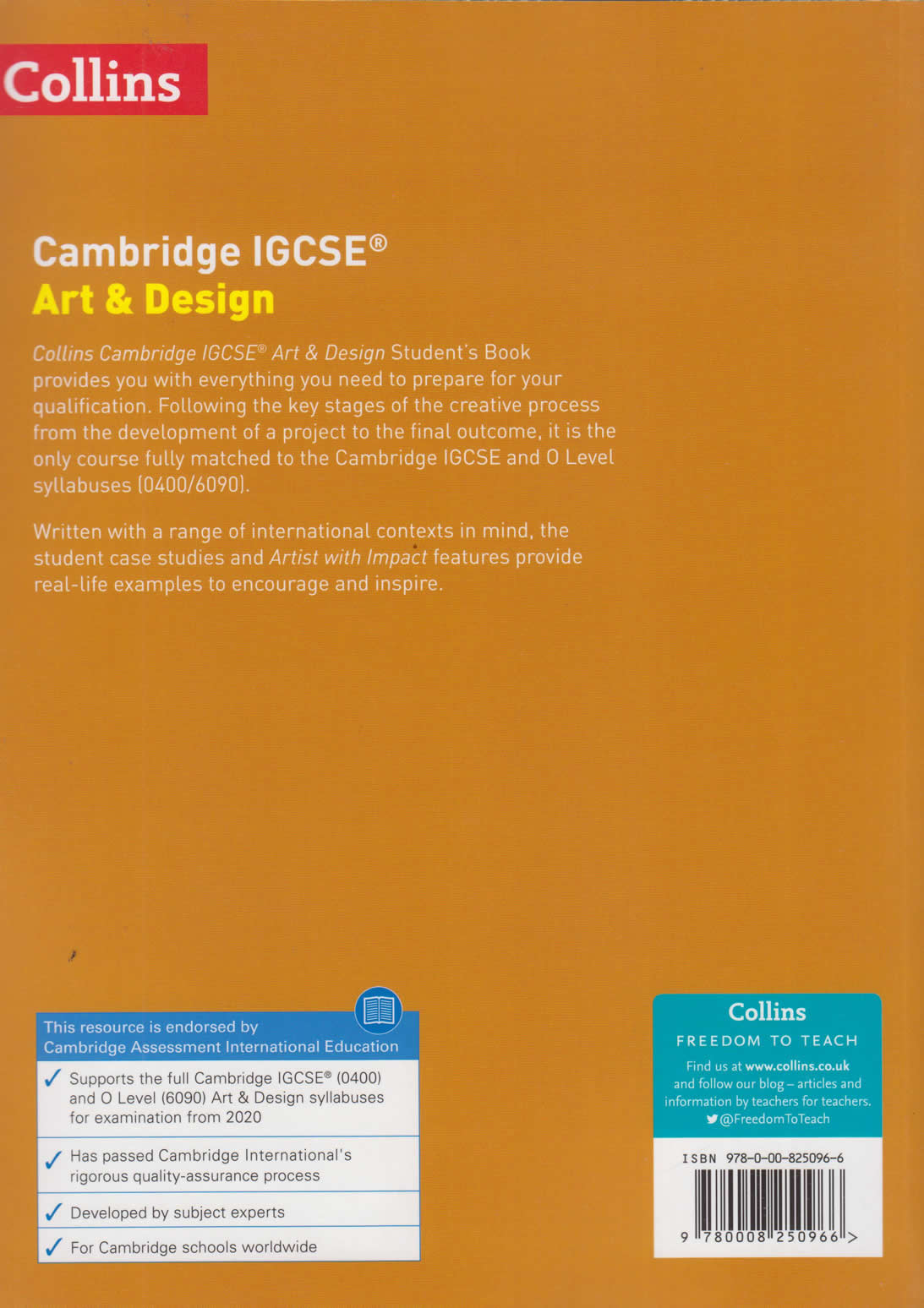 Cambridge IGCSE Art and Design Student's Book   Text Book Centre